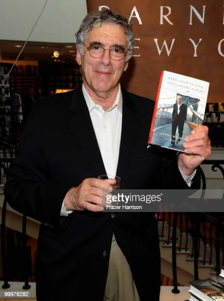 Actor Elliott Gould attends Barneys New York Celebrates The Release Of Jerry Weintraub's New Book When I Stop Talking You'll Know I'm Dead Useful...