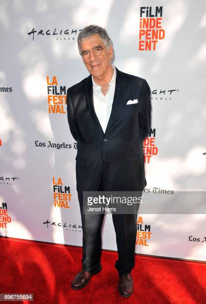 Actor Elliott Gould attends the premiere of Humor Me during 2017 Los Angeles Film Festival at Arclight Cinemas Culver City on June 16 2017 in Culver...