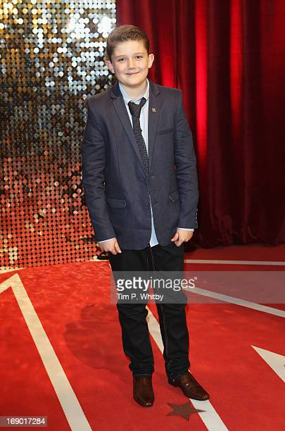 Actor Ellis Hollins attends the British Soap Awards at Media City on May 18 2013 in Manchester England