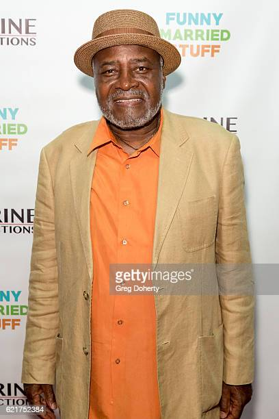 Actor Ellis Williams arrives for the Screening Of Perrine Productions' 'Funny Married Stuff' at the ACME Comedy Theatre on November 7 2016 in Los...