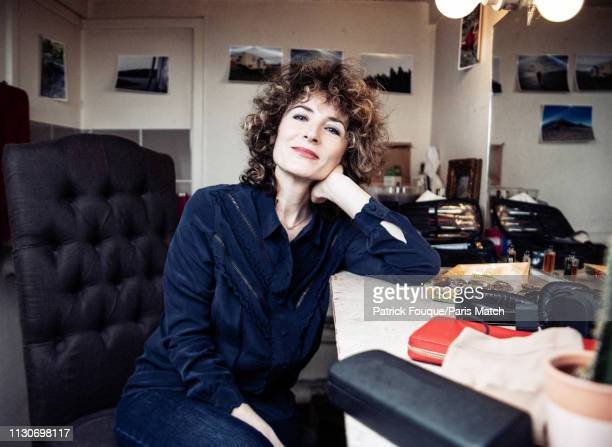 Actor Elsa Lunghini is photographed for Paris Match on Paris on February 15 2019