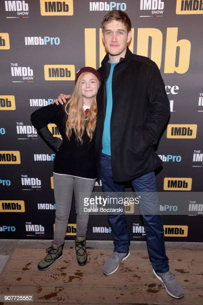 Actor Elsie Fisher and director Bo Burnham of 'Eighth Grade' attend The IMDb Studio and The IMDb Show on Location at The Sundance Film Festival on...