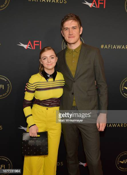 Actor Elsie Fisher and directorwriter Bo Burnham attend the 19th Annual AFI Awards at Four Seasons Hotel Los Angeles at Beverly Hills on January 4...