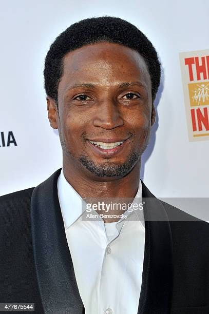 Actor Elvis Nolasco attends the Black AIDS Institute 2015 Heroes in the Struggle Reception Gala and Awards Ceremony at Directors Guild Of America on...