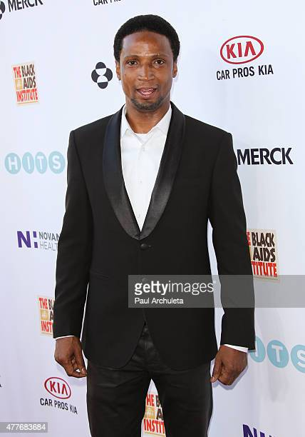 Actor Elvis Nolasco attends the Black AIDS Institutes 2015 Heroes In The Struggle gala reception and awards ceremony at The Directors Guild Of...
