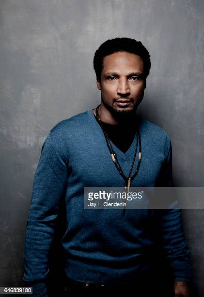 Actor Elvis Nolasco form the film Roxanne Roxanne is photographed at the 2017 Sundance Film Festival for Los Angeles Times on January 21 2017 in Park...