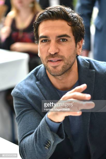 Actor Elyas M Barek attends the FFF reception during the Munich Film Festival 2017 at Praterinsel on June 29 2017 in Munich Germany