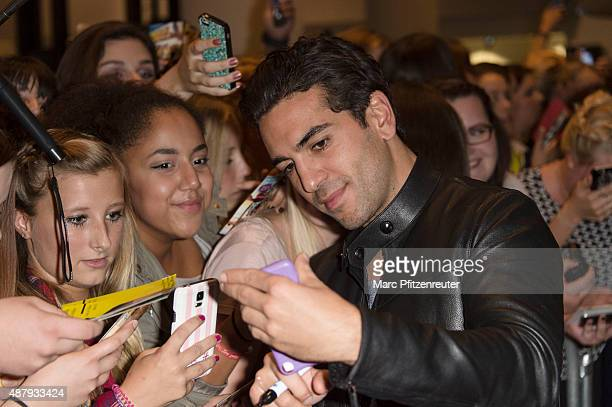 Actor Elyas M'Barek attends the 'Fack ju Goehte 2' Cinema Tour at the Cinedom on September 12 2015 in Cologne Germany