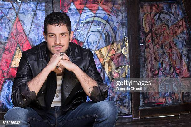 Actor Emanuel Caserio is photographed for Self Assignment on February 8 2016 in Rome Italy
