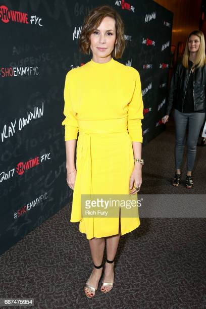 Actor Embeth Davidtz attends Showtime's 'Ray Donovan' season 4 FYC event at the DGA Theater on April 11 2017 in Los Angeles California
