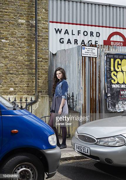 Actor Emer Kenny poses for a portrait shoot in London on June 29, 2010.