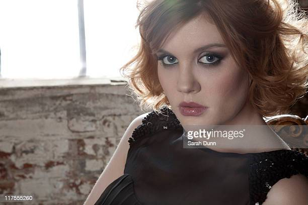 Actor Emerald Fennell is photographed on January 19 2011 for You Magazine in London England