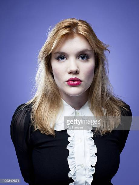 Actor Emerald Fennell poses for a portrait shoot in London on October 27 2010