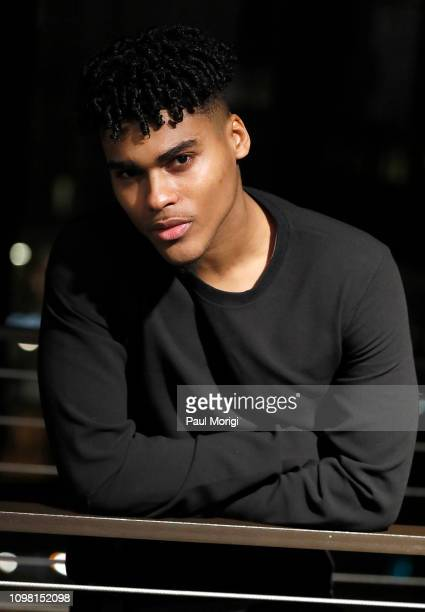 Actor Emery Lavell Johnson attends the Advanced Cooperative Communication Empowerment for People of all Types panel discussion and Carl Webber's The...