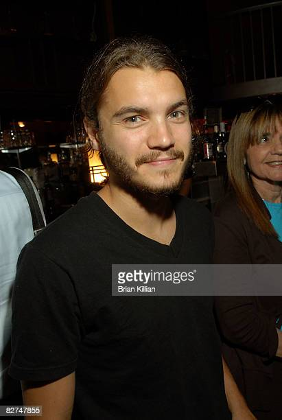 """Actor Emil Hirsch attends a screening of """"Invisibles"""" at the Tribeca Cinemas on September 8, 2008 in New York City."""