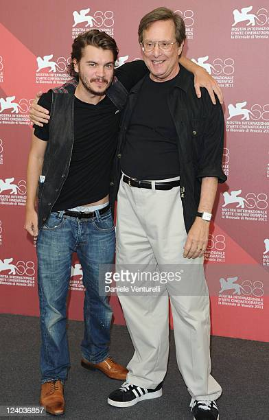 Actor Emile Hirsch and director William Friedkin attend the Killer Joe Photocall during the 68th Venice International Film Festival at Palazzo del...
