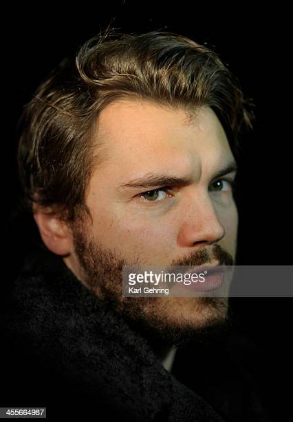 Actor Emile Hirsch appeared at a movie screening Thursday night December 12 2013 Hirsch portrays Navy SEAL team member Danny Dietz Jr in the movie...