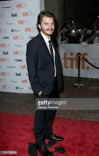 Actor Emile Hirsch arrives at 'Killer Joe' Premiere at Ryerson Theatre during the 2011 Toronto International Film Festival on September 11 2011 in...