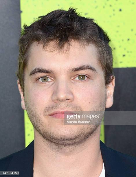 Actor Emile Hirsch arrives at Premiere of Universal Pictures' Savages at Westwood Village on June 25 2012 in Los Angeles California