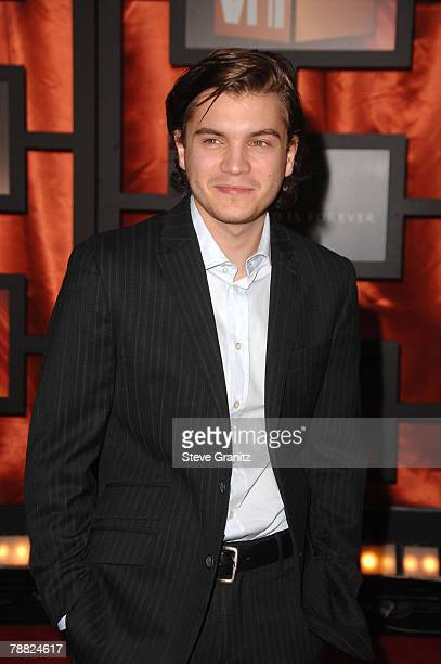 Actor Emile Hirsch arrives at the 13th ANNUAL CRITICS' CHOICE AWARDS at the Santa Monica Civic Auditorium on January 7, 2008 in Santa Monica,...