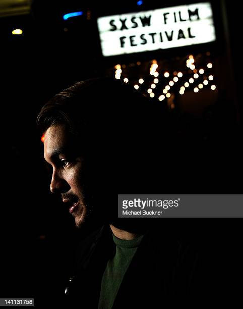 Actor Emile Hirsch arrives at the US Premiere of 'Killer Joe' during the 2012 SXSW Music Film Interactive Festival at the Paramount Theatre on March...