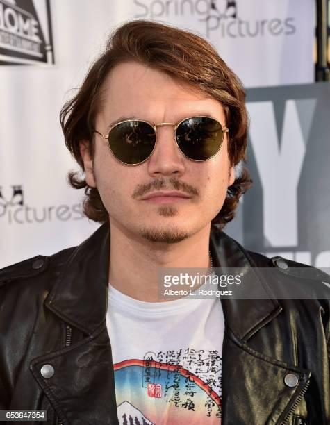 Actor Emile Hirsch attends a screening of Good Deed Entertainment's 'All Nighter' at Ahrya Fine Arts Theater on March 15 2017 in Beverly Hills...