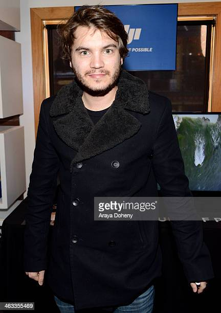 Actor Emile Hirsch attends the Kari Feinstein Style Lounge on January 17 2014 in Park City Utah