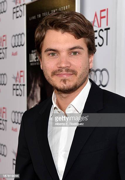 Actor Emile Hirsch attends the premiere for 'Lone Survivor' during AFI FEST 2013 presented by Audi at TCL Chinese Theatre on November 12 2013 in...