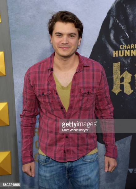 Actor Emile Hirsch attends the premiere of Warner Bros Pictures' 'King Arthur Legend Of The Sword' at TCL Chinese Theatre on May 8 2017 in Hollywood...