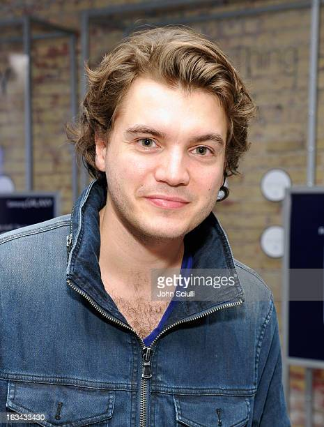 Actor Emile Hirsch attends the Prince Avalanche dinner hosted by The Samsung Galaxy Experience at SXSW on March 9 2013 in Austin Texas