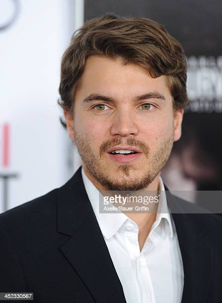 Actor Emile Hirsch attends the screening of 'Lone Survivor' at AFI FEST 2013 at the TCL Chinese Theatre on November 12 2013 in Hollywood California