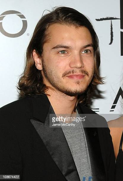 Actor Emile Hirsch attends the TAO and LAVO anniversary weekend held at TAO in the Venetian Resort Hotel Casino on October 3 2009 in Las Vegas Nevada