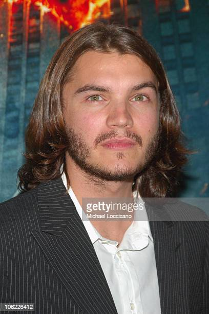 """Actor Emile Hirsch attends the """"The Dark Knight"""" premiere at the AMC Loews Lincoln Square theater on July 14, 2008 in New York City."""