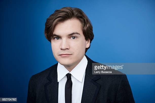 Actor Emile Hirsch poses for a portrait at the Tribeca Film Festival on April 18 2016 in New York City
