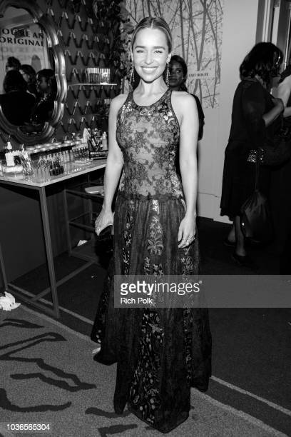 Actor Emilia Clarke attends IMDb LIVE After The Emmys 2018 on September 17 2018 in Los Angeles California