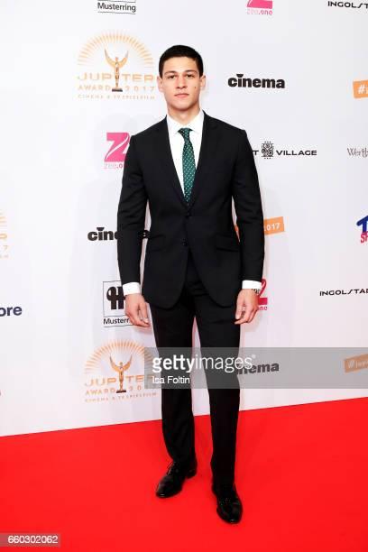 Actor Emilio Sakraya Moutaoukkil attends the Jupiter Award at Cafe Moskau on March 29 2017 in Berlin Germany