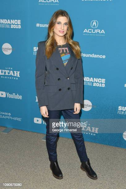 Actor Emily Arlook attends the Big Time Adolescence Premiere during the 2019 Sundance Film Festival at Eccles Center Theatre on January 28 2019 in...