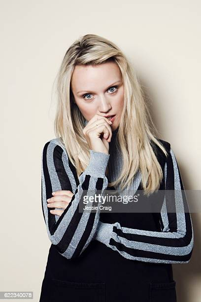 Actor Emily Berrington is photographed for the Picture Journal on August 19 2016 in London England