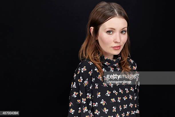 Actor Emily Browning is photographed for Entertainment Weekly Magazine on January 25 2014 in Park City Utah