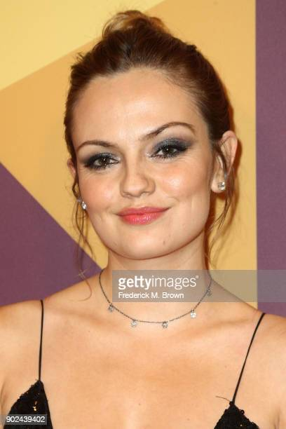 Actor Emily Meade attends HBO's Official Golden Globe Awards After Party at Circa 55 Restaurant on January 7 2018 in Los Angeles California