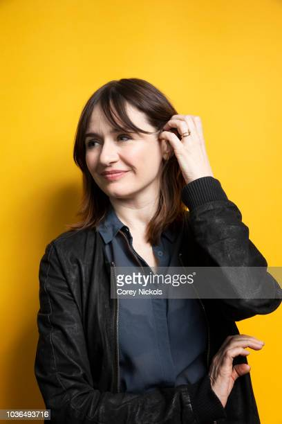 Actor Emily Mortimer from the film A Vigilante poses for a portrait in the Getty Images Portrait Studio Powered by Pizza Hut at the 2018 SXSW Film...