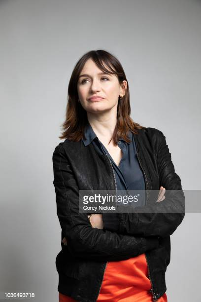 """Actor Emily Mortimer from the film """"A Vigilante"""" poses for a portrait in the Getty Images Portrait Studio Powered by Pizza Hut at the 2018 SXSW Film..."""