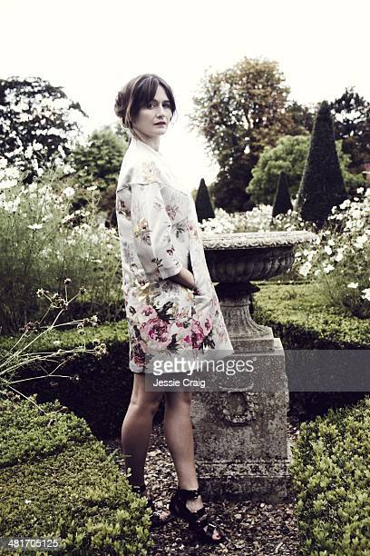 Actor Emily Mortimer is photographed for Marie Claire on October 9, 2013 in London, England.