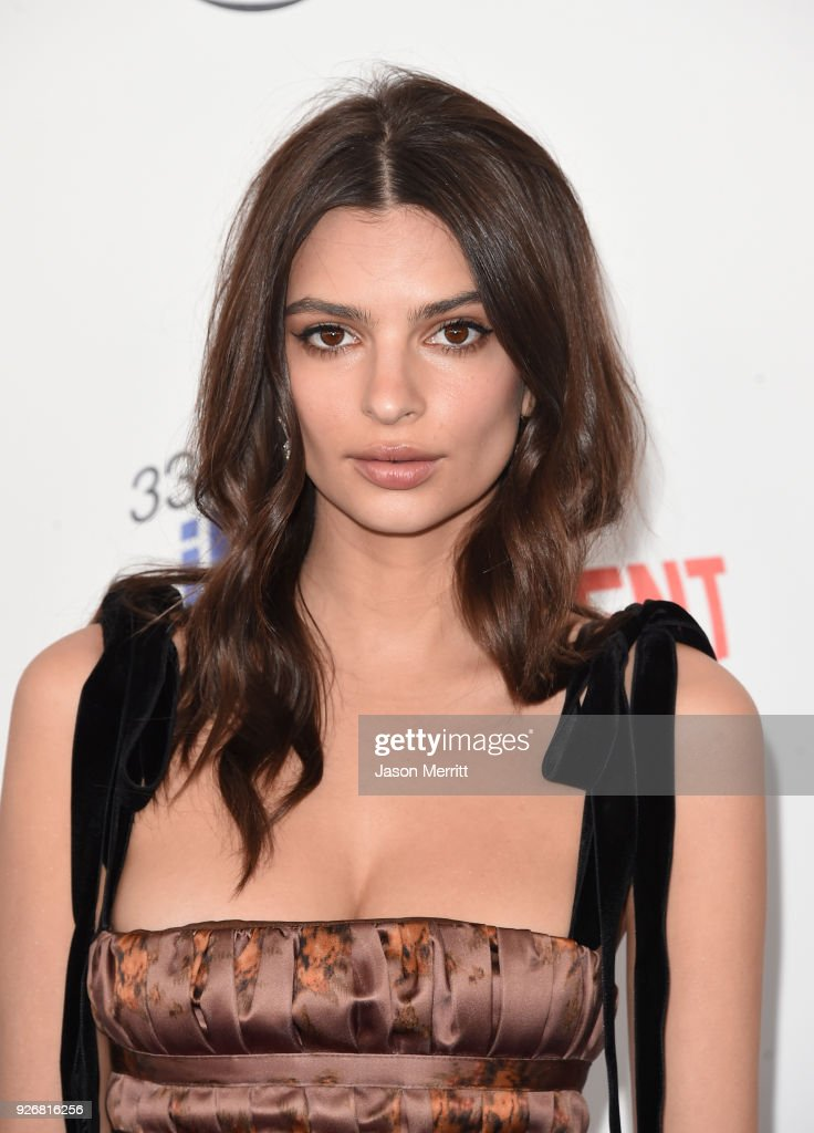 Actor Emily Ratajkowski attends the 2018 Film Independent Spirit Awards on March 3, 2018 in Santa Monica, California.
