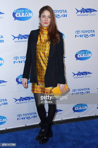 Actor Emily Tremaine attends Keep It Clean Live Comedy Benefit for Waterkeeper Alliance at Avalon on March 1 2018 in Hollywood California