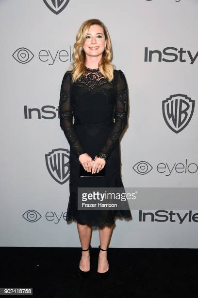 Actor Emily VanCamp attends 19th Annual Post-Golden Globes Party hosted by Warner Bros. Pictures and InStyle at The Beverly Hilton Hotel on January...