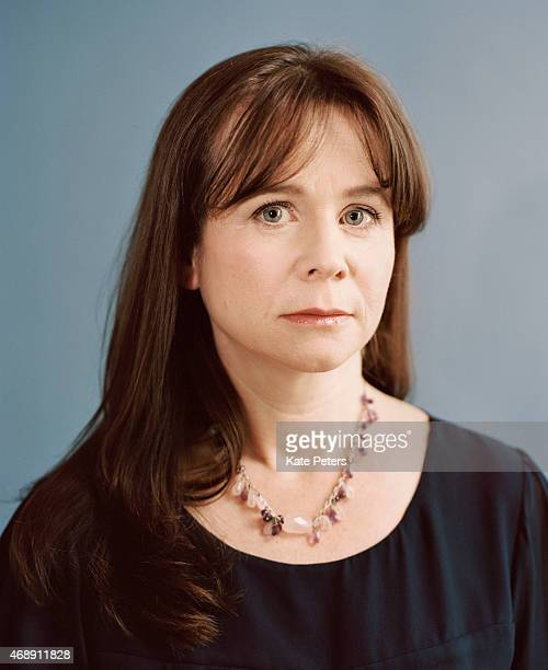Actor Emily Watson is photographed for the Telegraph on January 13 2014 in London England