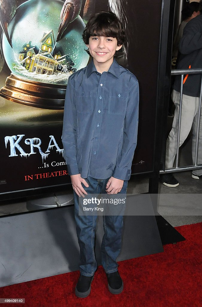 Actor Emjay Anthony attends industry screening of Universal Pictures' 'Krampus' at ArcLight Cinemas on November 30, 2015 in Hollywood, California.