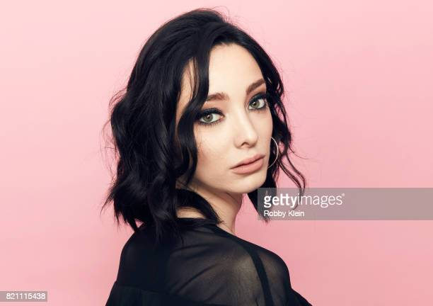 Actor Emma Dumont from FOX's 'The Gifted' poses for a portrait during ComicCon 2017 at Hard Rock Hotel San Diego on July 22 2017 in San Diego...