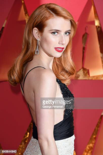 Actor Emma Roberts attends the 89th Annual Academy Awards at Hollywood & Highland Center on February 26, 2017 in Hollywood, California.